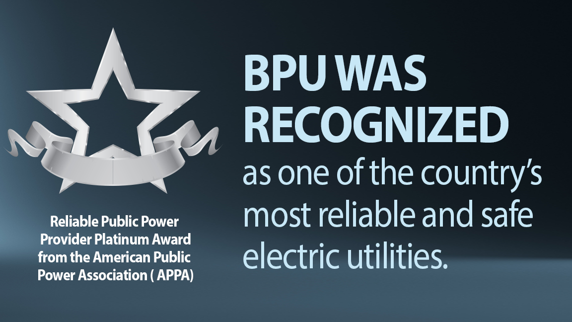 BPU Recognized Nationally for Electric Reliability and Safety