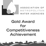 Gold award for competitiveness achievement